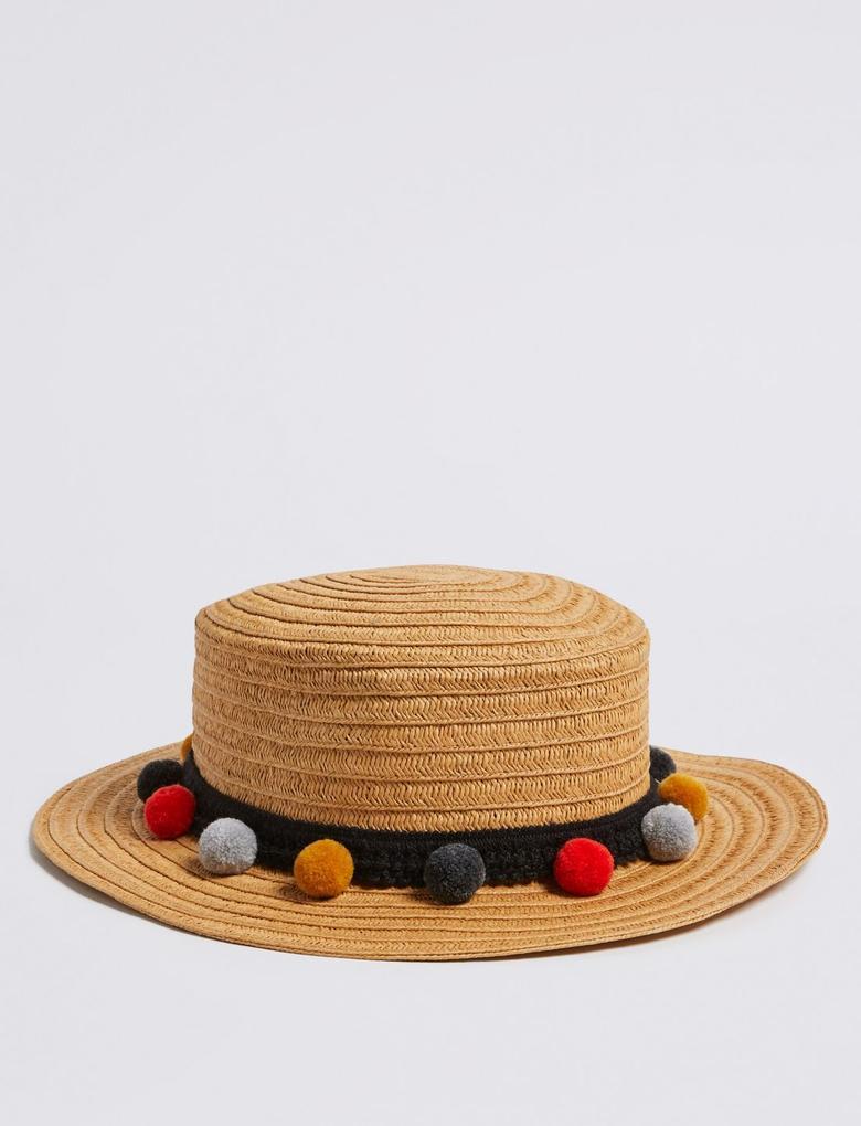 Sun Smart UPF50+ Çocuk Hasır Şapka