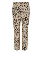 Desenli Slim Leg Pantolon