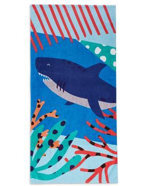 Köpek Balığı Desenli Plaj Havlusu