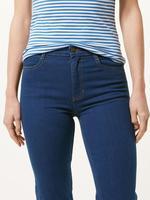 Straight Paça Kısa Jean