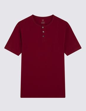 Henley Yaka T-shirt