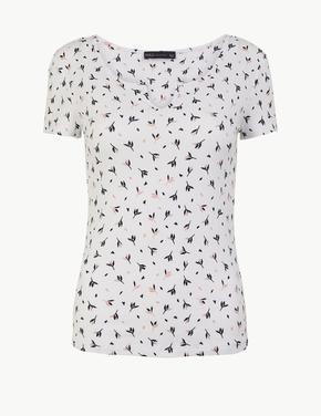 Baskılı Regular Fit T-shirt
