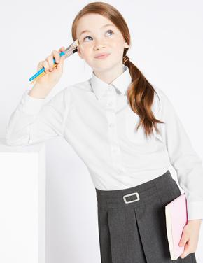 2'li Ütü Gerektirmeyen Uzun Kollu Gömlek