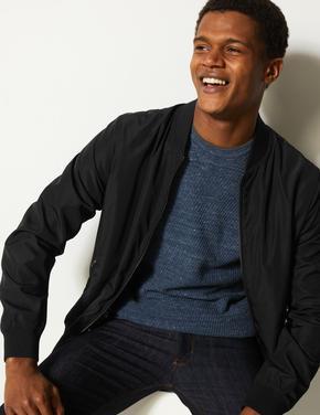 Erkek Siyah Stormwear™ Bomber Ceket