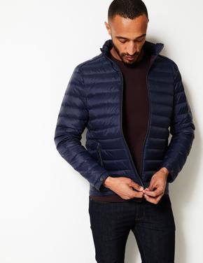 Lacivert Hafif Puffa Stormwear™ Mont