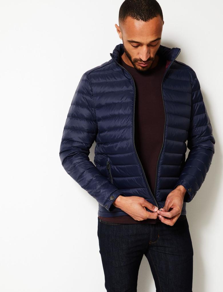 Hafif Kaz Tüyü Stormwear™ Mont