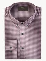 Pamuklu Kolay Ütülenebilir Slim Fit Gömlek
