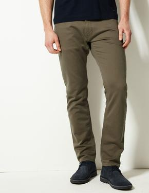 Slim Fit Travel Jean Pantolon