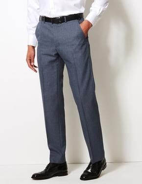 Erkek Mavi Regular Fit Pantolon