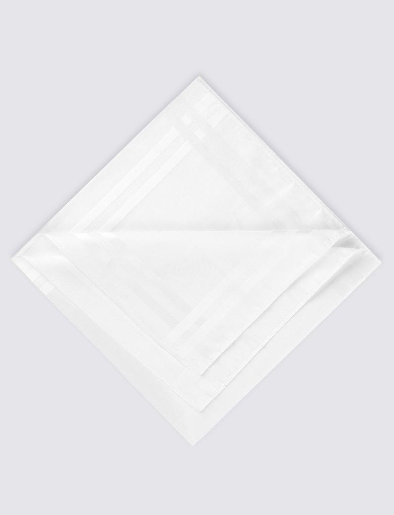 7'li Supima® Pamuklu Mendil (Sanitized Finish® Özelliği ile)