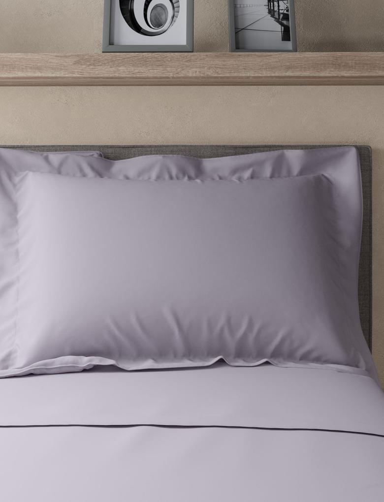 StayNEW™ Saf Egyptian Cotton Oxford Yastık Kılıfı