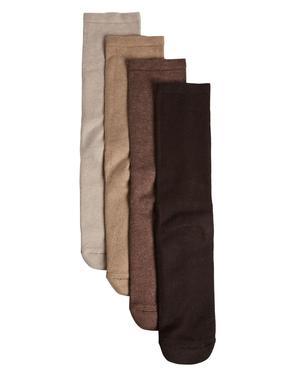 Kahverengi 4'lü Pamuklu Freshfeet™ Çorap