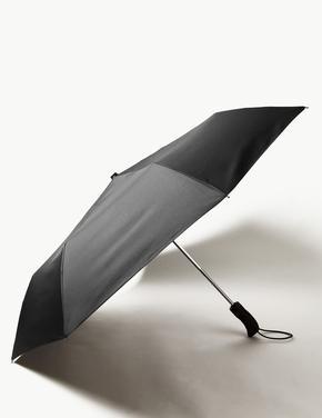 Erkek Siyah Şemsiye (Windtech™ ve Stormwear™ Teknolojileri ile)