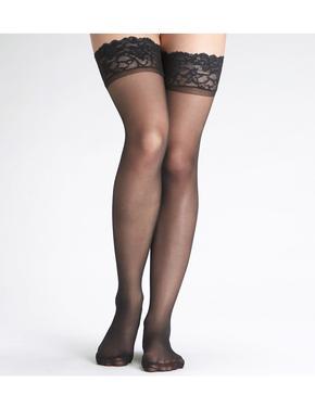 Kadın Siyah 10 Denye Mat Çorap