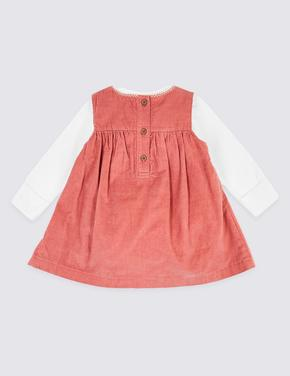 3 Parça İşlemeli Elbise Takımı