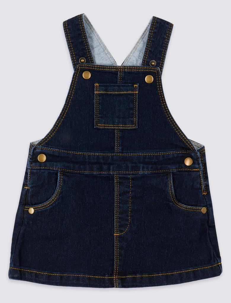 Bebek Mavi 2 Parça Body ve Elbise Takımı