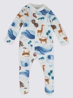 3'lü Saf Pamuklu Pijama Seti