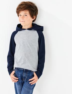 Erkek Çocuk Multi Renk 2'li Reglan Kollu Sweatshirt Seti