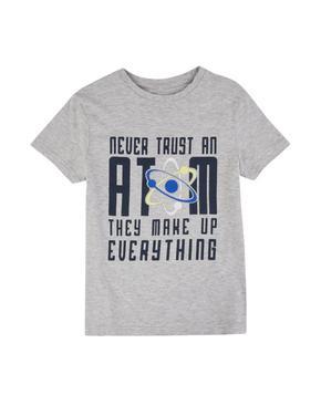Pamuklu Baskılı T-shirt