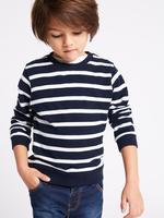 Erkek Çocuk Multi Renk 2'li Saf Pamuklu Sweatshirt Seti