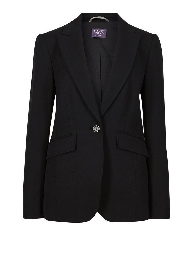 Siyah Blazer Ceket