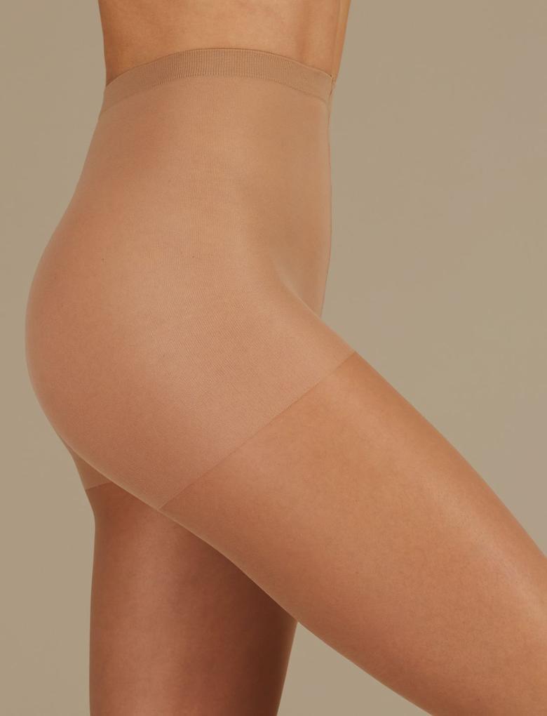 15 Denye Medium Destekli Külotlu Çorap