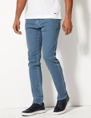 Slim Fit Stretch Travel Jean Pantolon