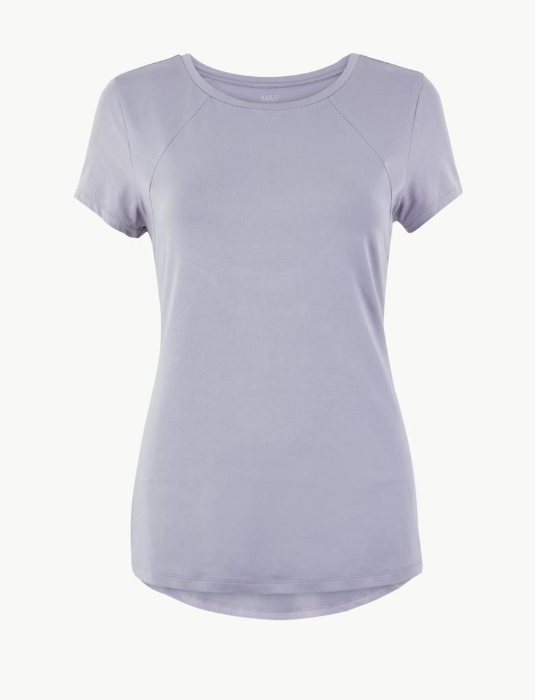 Hızlı Kuruyan Kısa Kollu T-shirt
