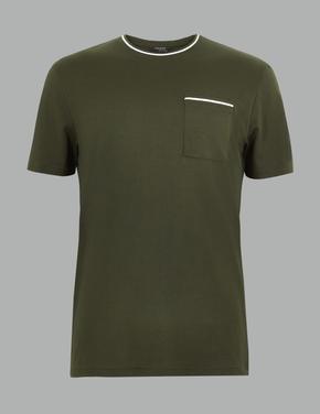 Supima® Saf Pamuklu T-shirt