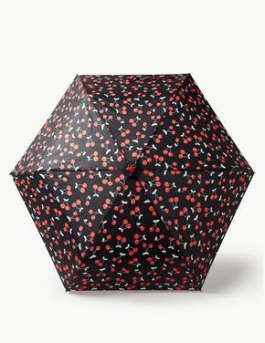 Desenli Kompakt Şemsiye