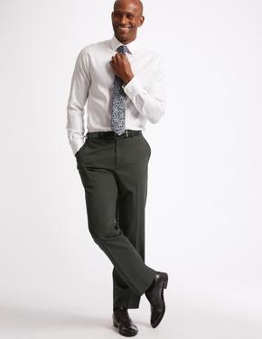 Erkek Gri Klasik Pantolon