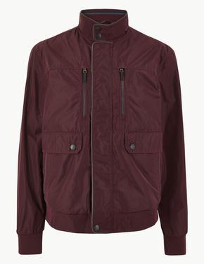 Kahverengi Stormwear™ Bomber Ceket