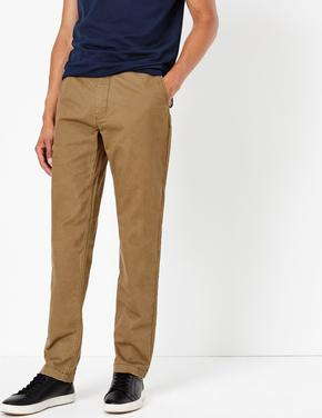 Pamuklu Slim Fit Chino Pantolon
