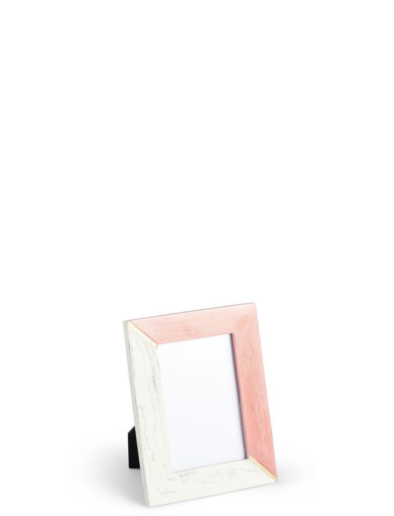 Ev Turuncu Mermer Görünümlü Fotoğraf Çerçevesi 10 x 15 cm