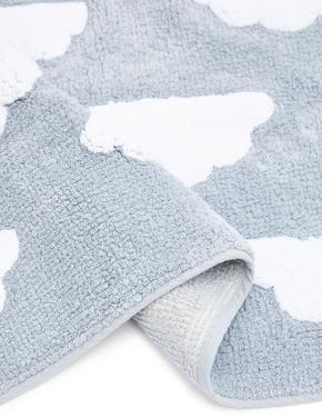 Pamuklu Bulut Desenli Banyo Paspası