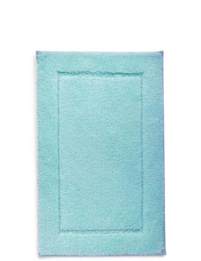 Ev Mavi Hızlı Kuruyan Banyo Paspası