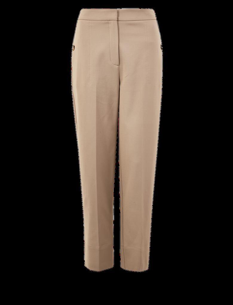 Pamuklu Straight Leg Pantolon