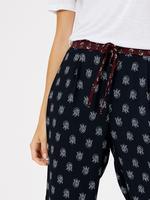 Çiçek Desenli Grazer Pantolon
