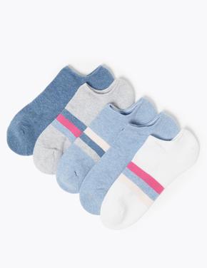 5'li Dikişsiz Çorap Seti