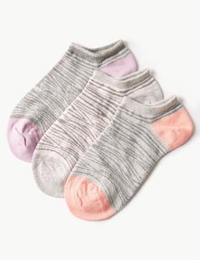3'lü Leopar Desenli Çorap Seti
