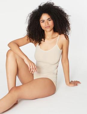 Kadın Bej Cool Comfort™ İnce Askılı Atlet