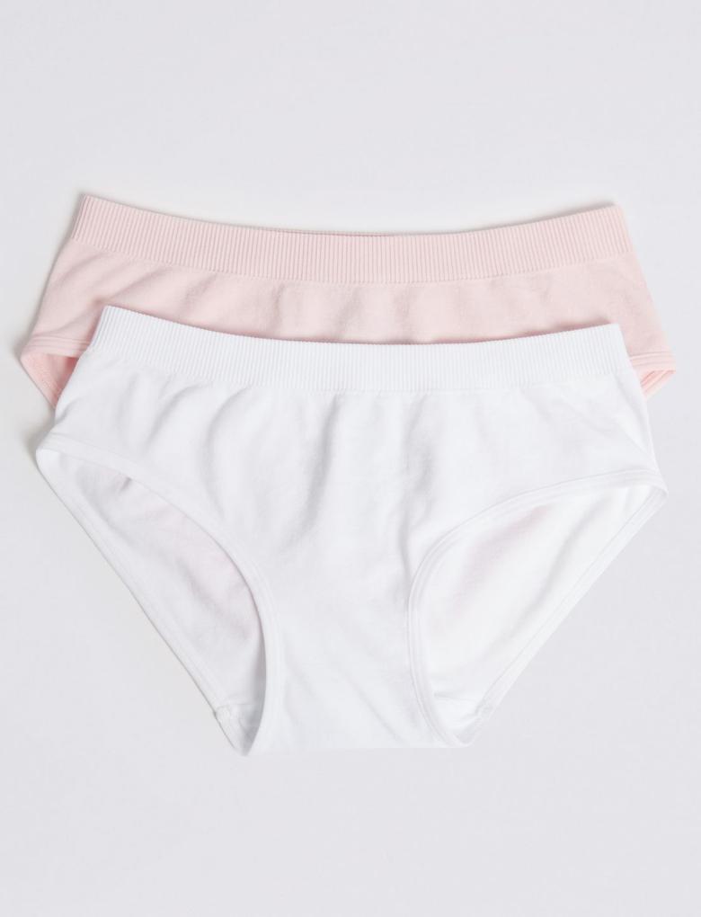 2'li Dikişsiz Bikini Külot Seti