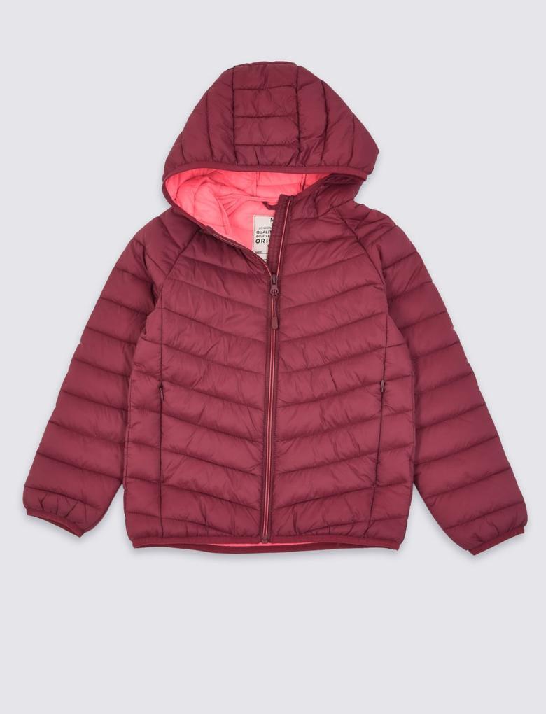 Kırmızı Stormwear™ Kapüşonlu Dolgulu Mont