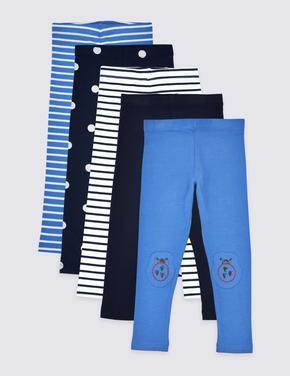5'li Jegging Pantolon Seti