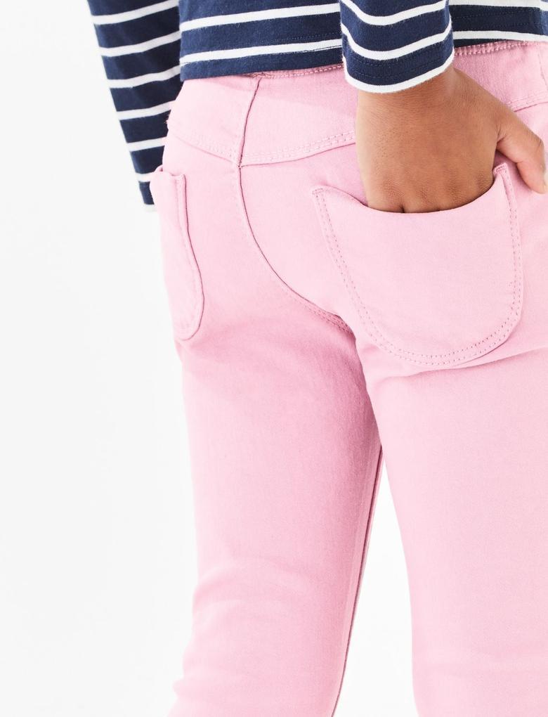 Pamuklu Jegging Pantolon