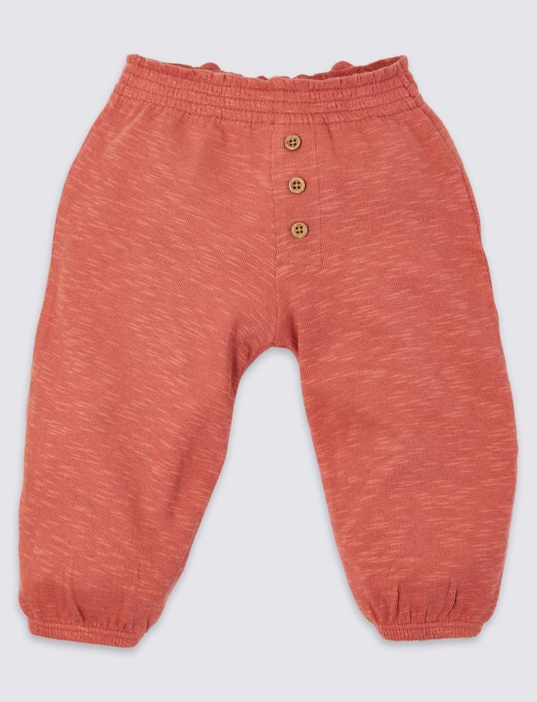 2'li Pamuklu Jogger Pantolon Seti