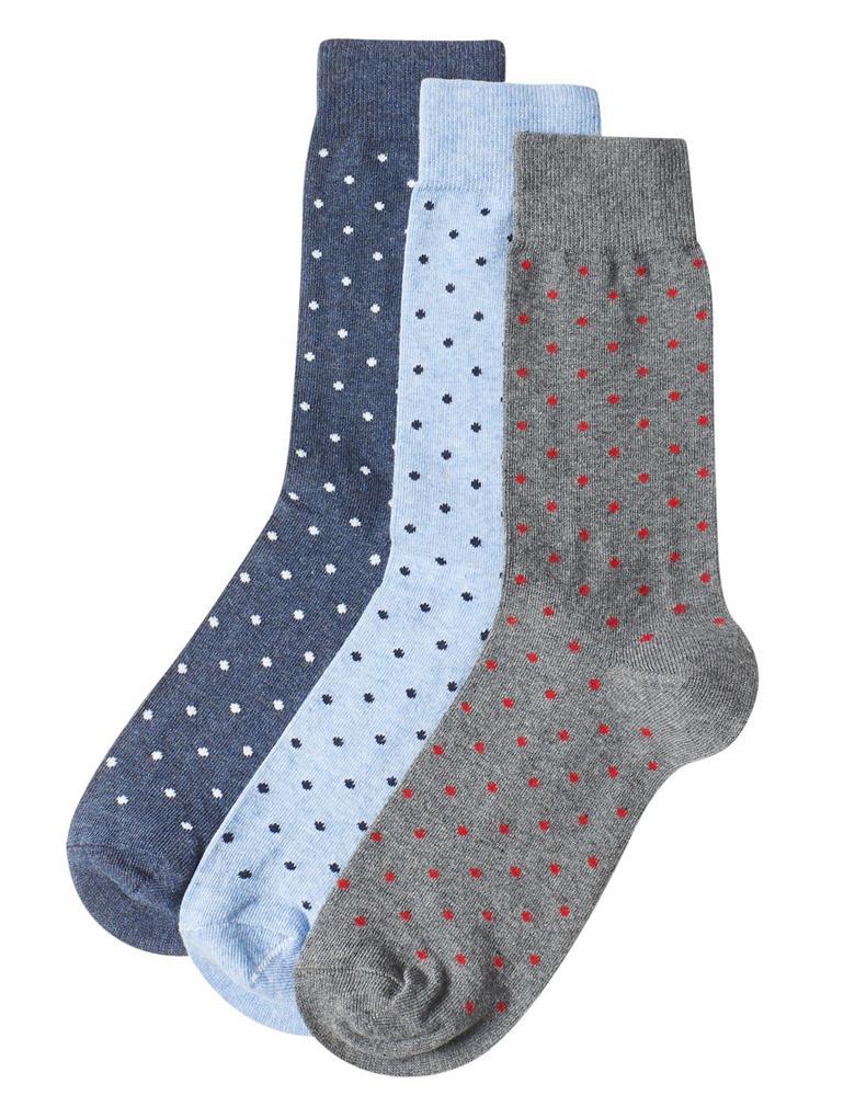 Mavi 3'lü Cool & Fresh™ Çorap Seti