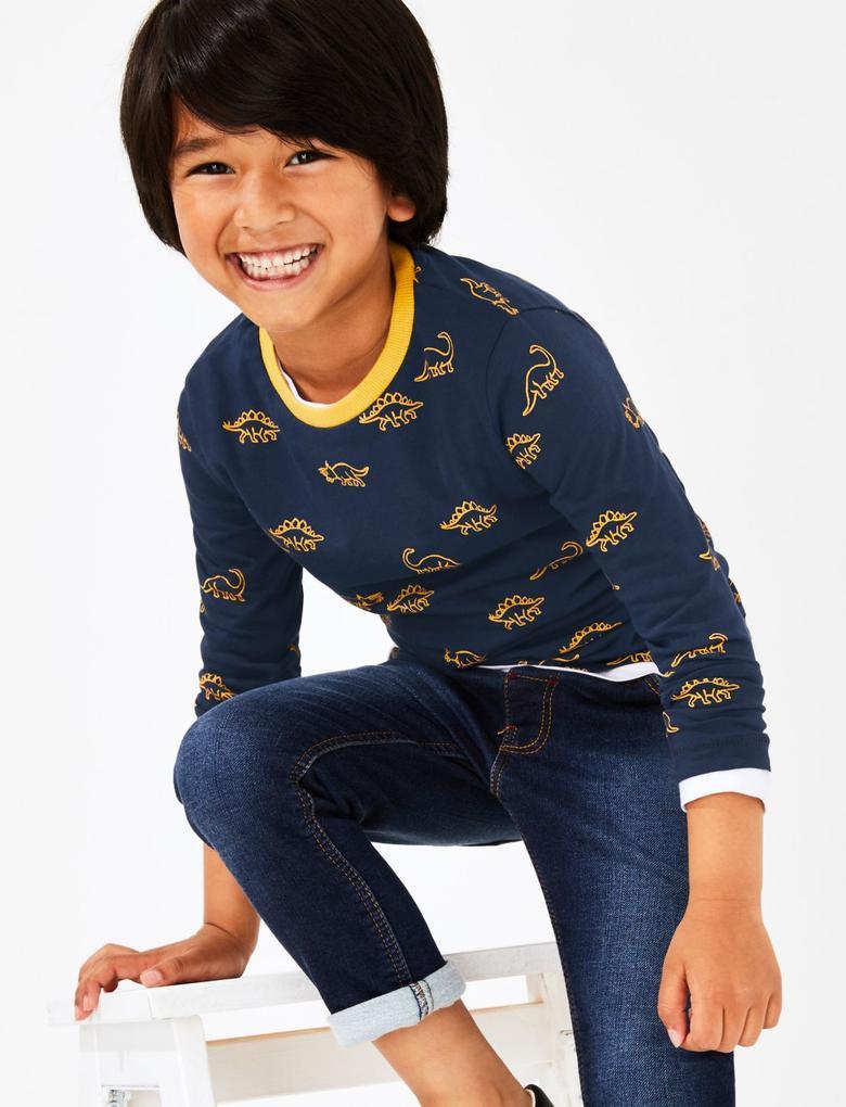5'li Pamuklu T-shirt Seti