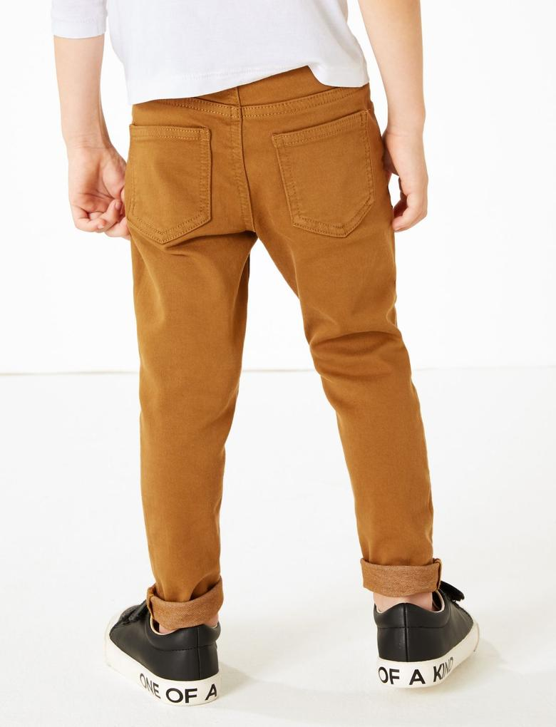 Erkek Çocuk Gri Renkli Jean Pantolon