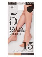 5'li 15 Denye Mat Pantolon Çorabı